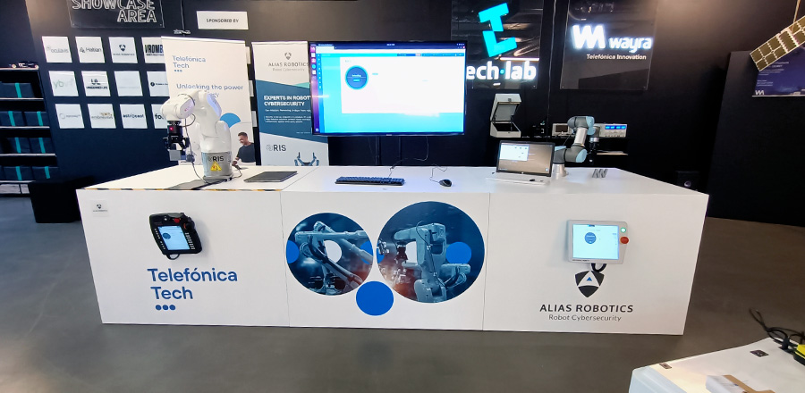 Telefónica Tech and Alias Robotics launch the world's first cyber security for robots laboratory in Munich